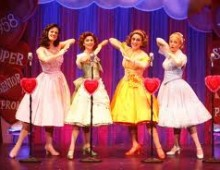 The Marvelous Wonderettes at the Pulaski Theater for Valentines Day